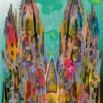 1996年登録の世界遺産の絵 | 松田光一 | 0038_110501ケルンの大聖堂2_W