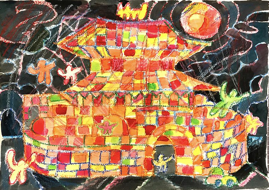1997年登録の世界遺産の絵