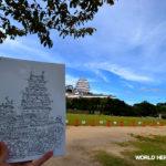 世界遺産 姫路城 の写真   松田光一 世界遺産旅より