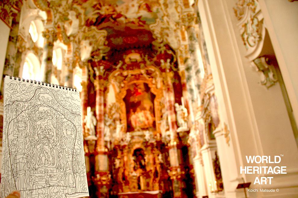ヴィースの教会 世界遺産旅