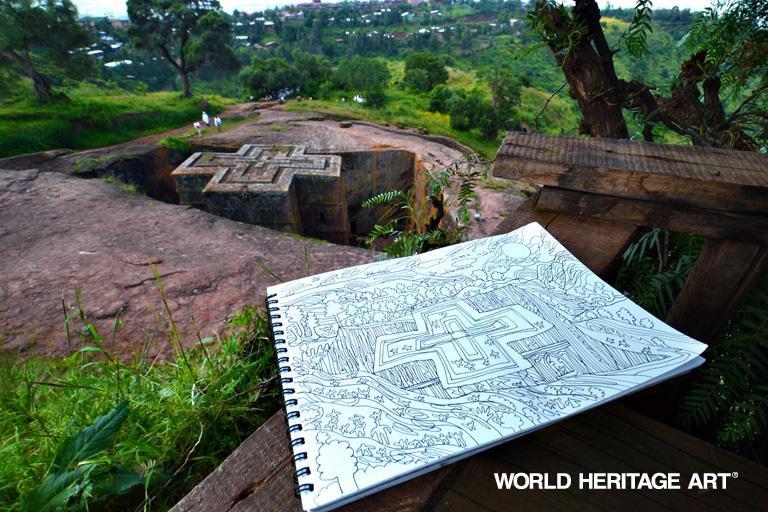 エチオピア ラリベラ 世界遺産旅